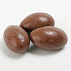 Composition Amande chocolat au lait vernie