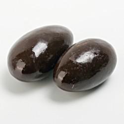 Amande chocolat noir vernie
